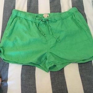 J. Crew Pants - Linen J Crew Tie Shorts