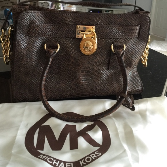 5f3b20abd44b Michael Kors Bags | Special Edition North South Brown | Poshmark