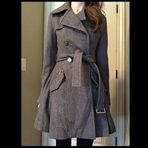 Express Grey trench coat