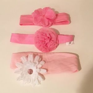 Gymboree Other - Flower baby headbands
