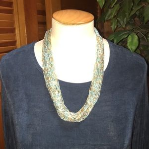NEW Exquisite beaded necklace from Nepal