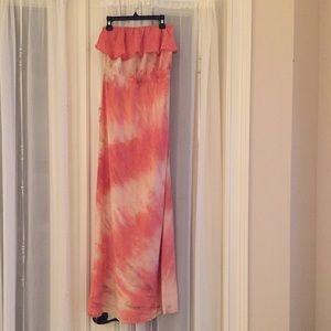 Gypsy 05 Dresses & Skirts - Gypsy xsmall strapless maxi dress
