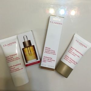 New Clarins skin cares