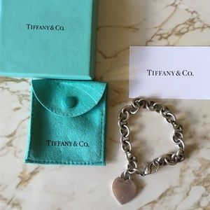 Tiffany & Co. Heart Chain Bracelet