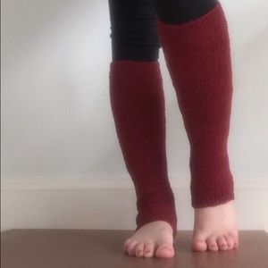 Accessories - Red Leg Warmers