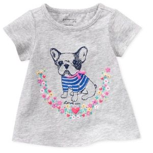 First Impressions Other - Girls bulldog tee