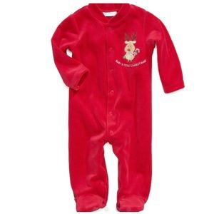 First Impressions Other - 1st Christmas reindeer romper coverall