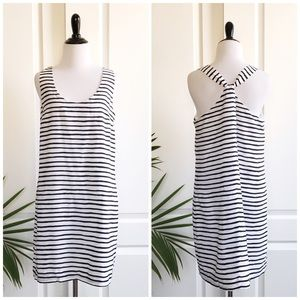 J. Crew Factory Dresses & Skirts - J. Crew Nautical Knotted Back Striped Dress