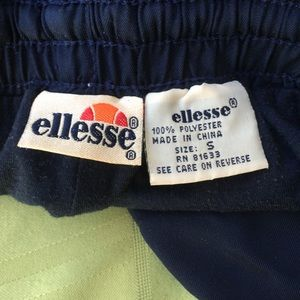 Ellesse Pants - CLASSIC Ellesse workoutworkout/jogging pants Small