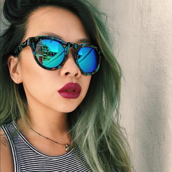 1243b70cfdf Diff Accessories - Diff Eyewear Dime 2 blue mirror lens sunglasses