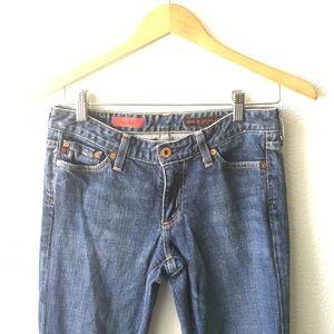 VINTAGE Flare Dark Wash Jeans