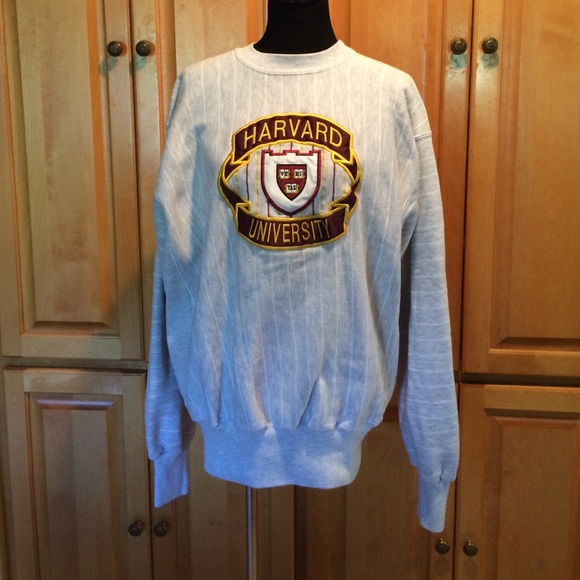 Midwest Embroidery Tops Harvard University Sweatshirt Poshmark