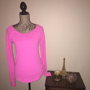 Victoria's Secret PINK Thermal LS Size: L