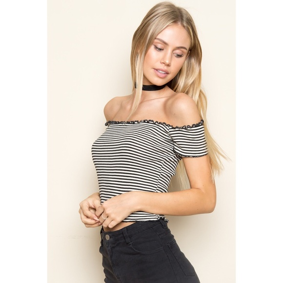 267c715f53235 Brandy Melville striped Jessie top