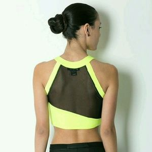 Mesh It Up Crop Top