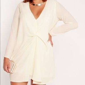 Missguided + Dresses & Skirts - Ivory Knot Dress