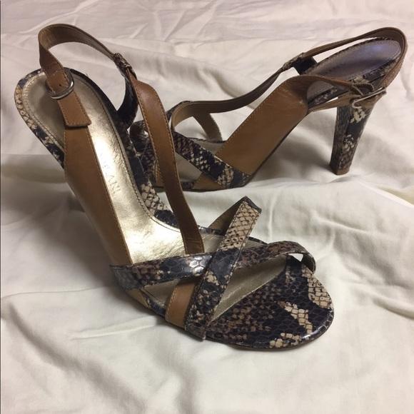 Antonio Melani Antonio Melani Snake Skin Sandals Size 8