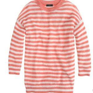 J. Crew heather-stripe sweater