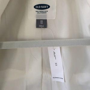 Old Navy Jackets & Coats - NWT Old Navy White High Neck Blazer