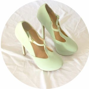 Shoes - SOLD! ❌Mint Green Platforms