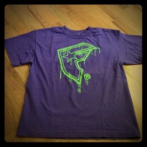 Famous Stars & Straps Other - Boys Famous Stars & Straps T-Shirt Purple L 12/14