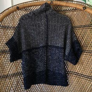 Theonne Sweaters - Theonne Navy Blue Aya Sweater