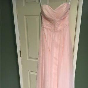SALE** Beautiful Blush Bridesmaid dress!