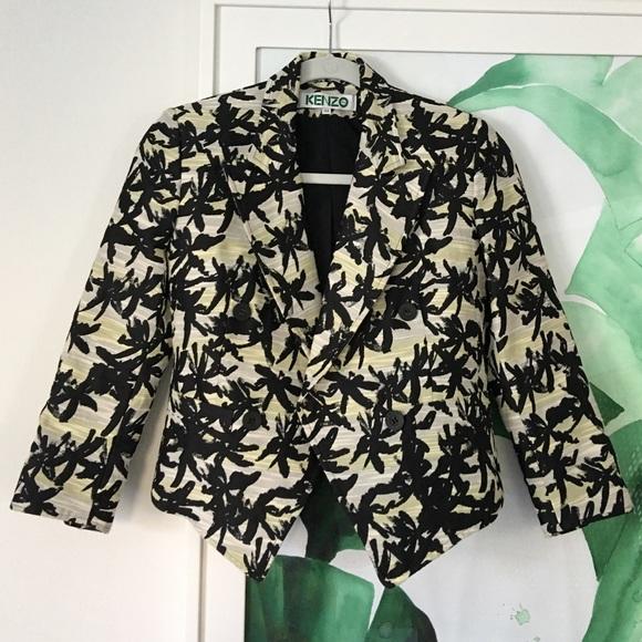 Kenzo Jackets & Blazers - Kenzo Paris Print Blazer