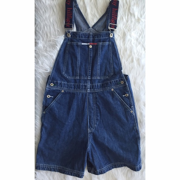 e87a2e6e0 Vintage Tommy Hilfiger Shortalls Shorts Overalls.  M_57bb9fd3bf6df5de550005c7. Other Jeans ...