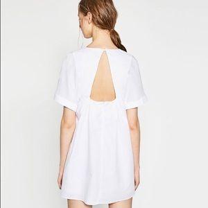 0e9f002c864 Zara Dresses - Zara poplin jumpsuit babydoll dress
