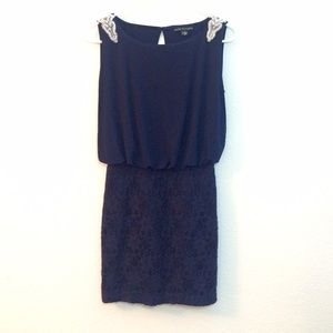 City Triangles Dresses & Skirts - 🎉HP🎉City Triangles Navy Blue Party Dress