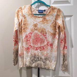 Simply Vera Vera Wang Sweaters - Floral Sweater
