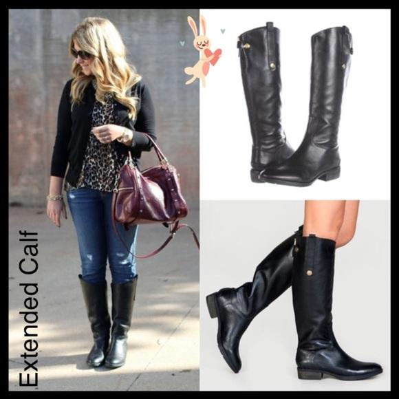 652e7759998f New Sam Edelman Penny Wide Calf Riding Boots 🐎