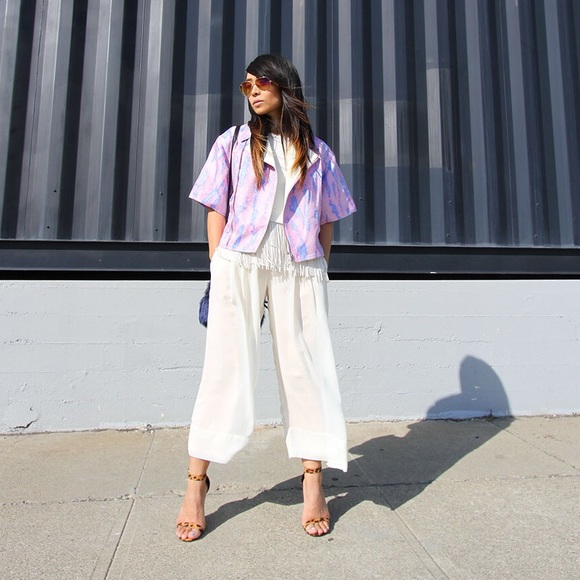 Lovers + Friends Pants - Lovers + Friends x Monica Rose Gaucho Pants
