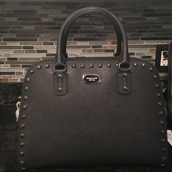 9332691ecdce ... M Kors Studded Satchel. M 57bc56622599fe8823001db4. Other Bags ...