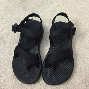 Chacos Shoes - Chaco. Z/1 Cloud. Black.