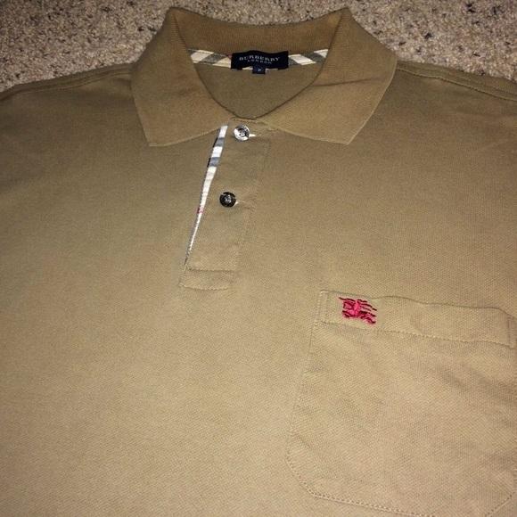 edc81001 Burberry Shirts | Mens Polo Shirt | Poshmark