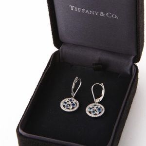 a0203905b Tiffany & Co. Jewelry | Tiffany Co Cobblestone Diamond Sapphire ...