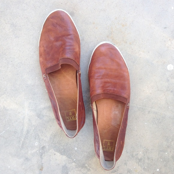 Frye Shoes   Frye Melanie Slipon Flat