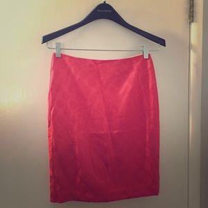 Banana Republic - Orange/Coral Skirt