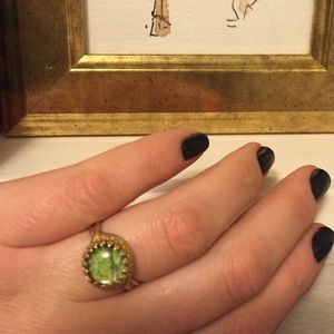 Jewelry - Ring with a real butterfly wing
