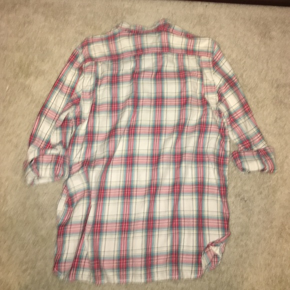 59 Off Vans Other Red White And Blue Flannel From Nikki