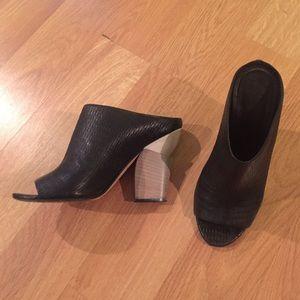 Zero + Maria Cornejo Shoes - Zero + Maria Cornejo sz 39 - sculpted block heel
