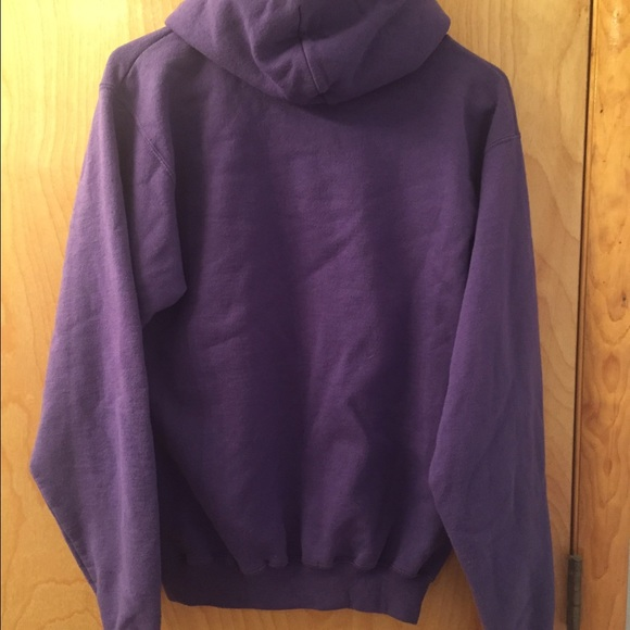 69% off Champion Tops - Purple champion hoodie from Felicia's ...