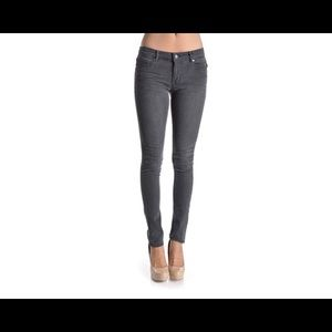 Denim - Grey skinny jeans