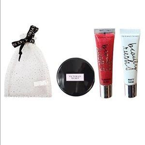 Victoria's Secret Other - Victoria's Secret Lips Gloss & Mirror Set