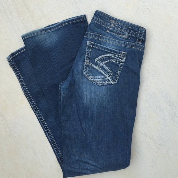 82% off Silver Jeans Denim - Silver jeans Lola flare Sz 29 from ...
