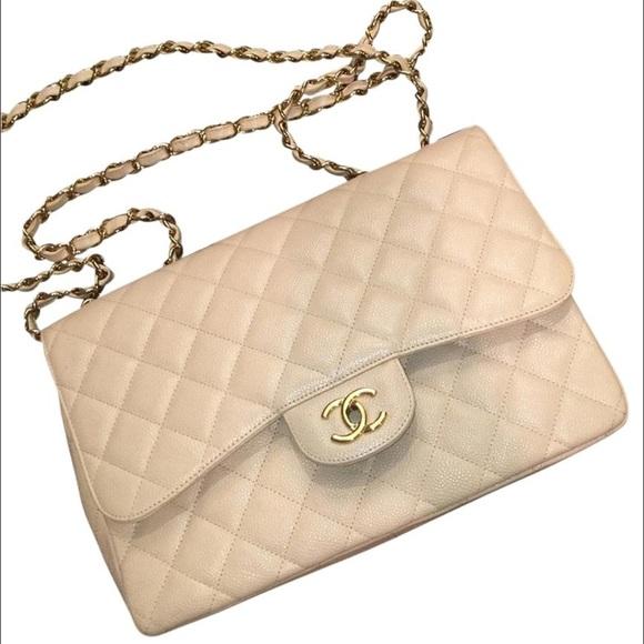 d85d9dee0f08 Chanel Bags | Classic Flap Bag Jumbo Caviar | Poshmark