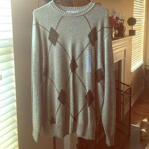 Geoffrey Beene Other - NWT Men's Argyle Pattern Sweater