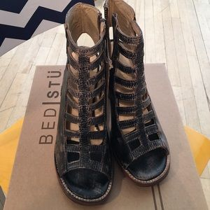 55 bed stu shoes bed stu bruges wedge boot